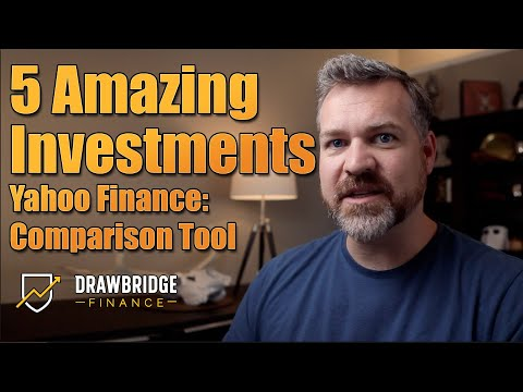 Free Investment Tools: Using Yahoo Finance To Compare 5 ETFs