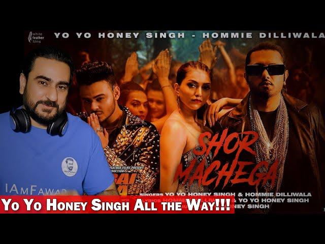 Shor Machega Song: Yo Yo Honey Singh | Mumbai Saga | Reaction | IAmFawad
