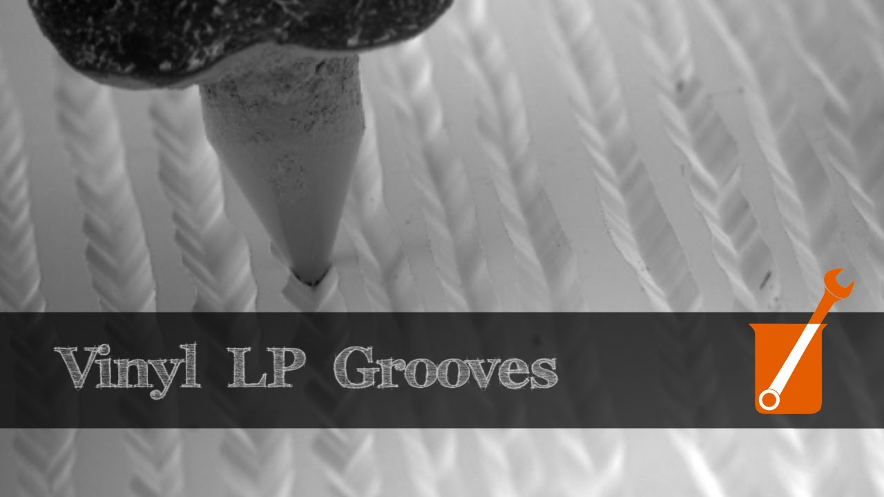 Electron Microscope Slow Motion Video Of Vinyl Lp Youtube