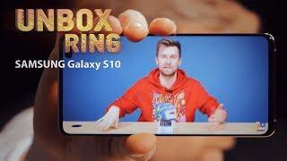 SUSPROGDINAM TELEFONĄ?  | SAMSUNG Galaxy S10 | Unbox Ring apžvalga