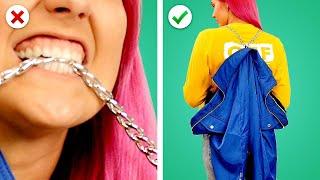 10 Fashion Hacks & Crafts! DIY Clothing Upcycling Ideas