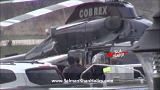 Salman Khan arrives in Romania for Jai Ho song shoot !