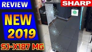 Kulkas 1 Pintu Sharp Sjx 187 MG Kirey 3 Shine Door 166 Liter 120 CM