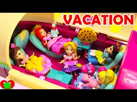Disney Princess Magical Airplane Vacation