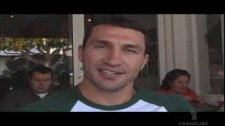 Wladimir Klitschko: When I