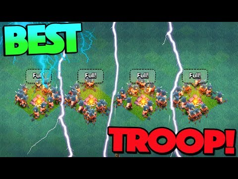 GEMMING NEW BEST TROOP TO MAX IN CLASH OF CLANS BUILDERS BASE!