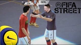 fifa street gameplay xbox 360 portugal vs francia la magia de cristiano ronaldo