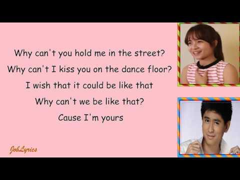 SECRET LOVE SONG Lyrics - By: Kristel Fulgar & CJ Navato