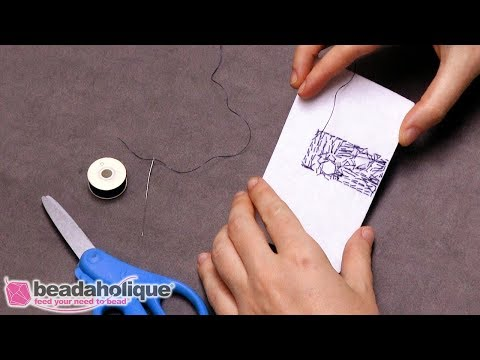 Quick Tip: How to Tie Off Threads in Bead Embroidery
