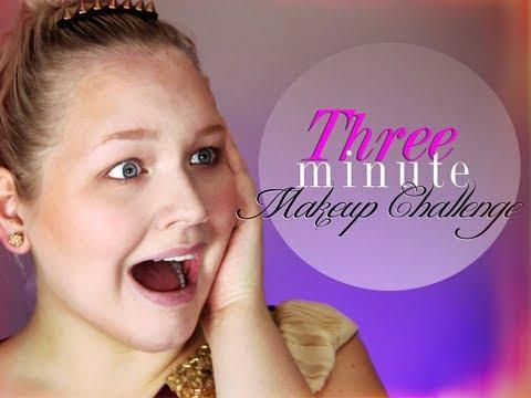 Three Minute Makeup Challenge!