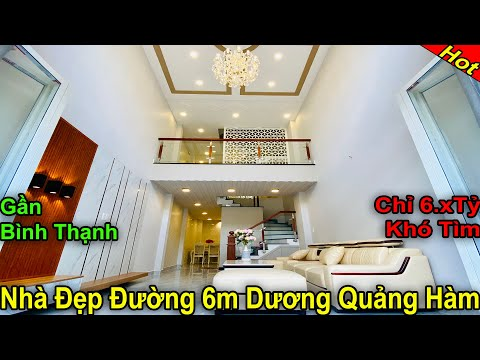 Bán nhà Gò Vấp Chính Chủ | Bán Nhà Đẹp 4.5 Tấm Khó Tìm hẻm 6m đường Dương Quảng Hàm gần Bình Thạnh