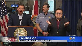 Special Report: Florida Gov. Ron DeSantis Provides Update On Statewide Coronavirus Response