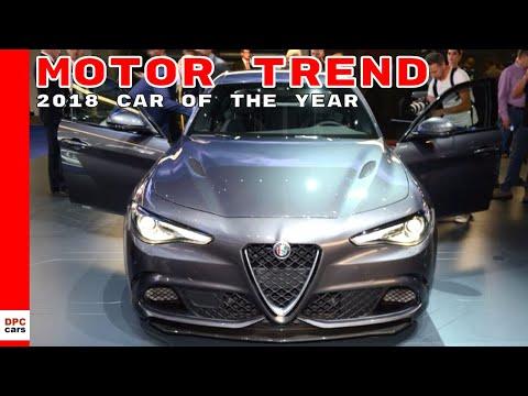 Alfa Romeo Giulia Is The Motor Trend 2018 Car Of The Year