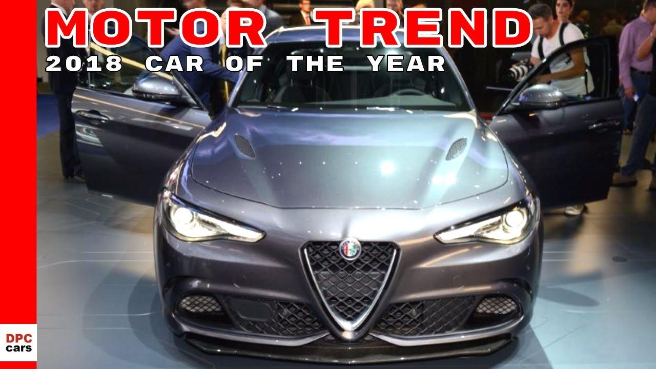 Alfa Romeo Giulia Is The Motor Trend 2018 Car Of Year