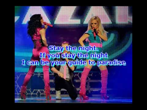 Alcazar - Stay the night (Lyrics)