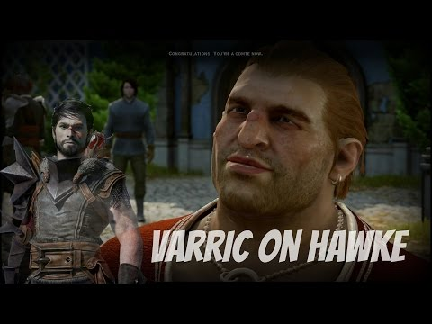 Dragon Age: Inquisition - Trespasser DLC: Varric on Hawke and Kirkwall