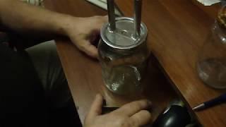 сухопарник для самогона   из нерж крышки за 35 копеек