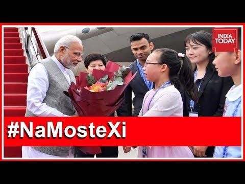 PM Modi Arrives In Qingdao For India's First SCO Summit
