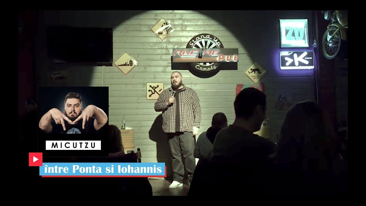 Despre Ponta si Iohannis | Micutzu Stand-up Comedy | Racing Pub Bucuresti