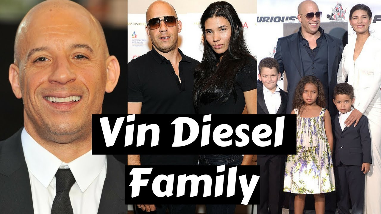 Actor vin diesel family photos with partner paloma jimenez daughter sister parents siblings body
