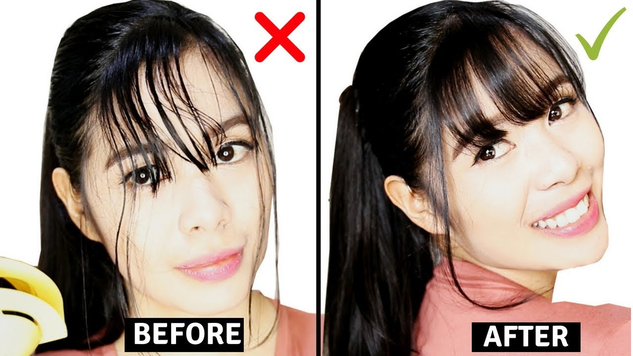Looks - Ways stylish to cut your bangs video