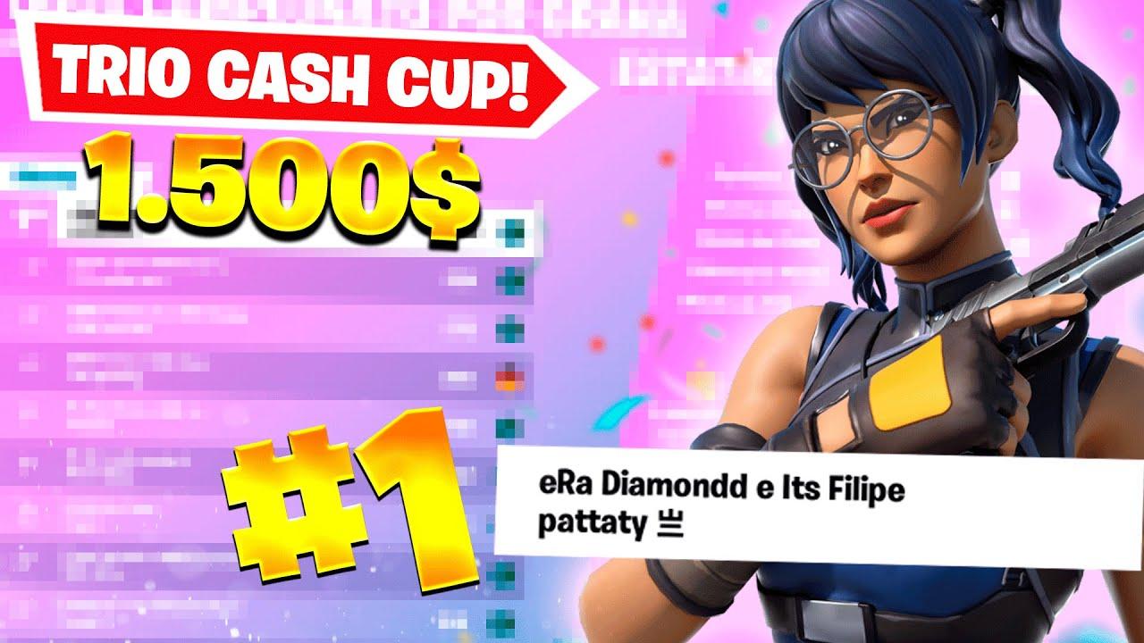 COMO FIQUEI TOP 1 na TRIO CASH CUP 🏆 (R$7.500)