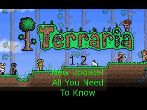Terraria Update 1.2.12715  *More Space!*