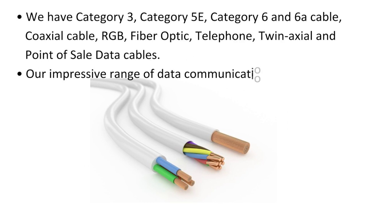 Data Communication Cables from Olympic Wire & Cable Corp. - YouTube
