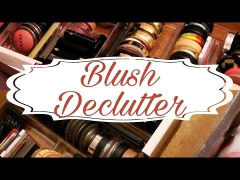 BLUSH DECLUTTER   March 2018