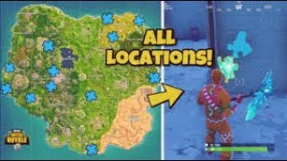 search jigsaw puzzle pieces under bridges and in caves - all jigsaw puzzle fortnite season 8 locations