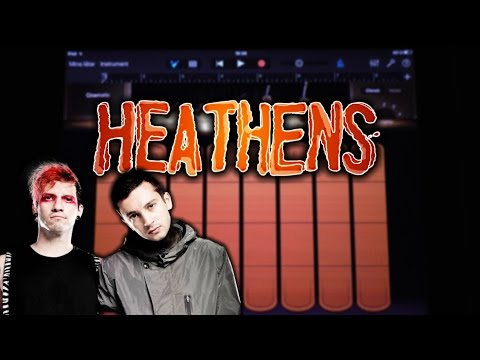 Twenty One Pilots - Heathens (GARAGEBAND TUTORIAL)