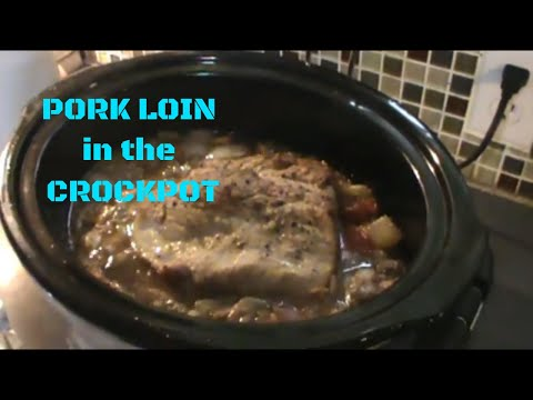 BEST EVER CROCKPOT PORK LOIN With KETO LOW CARB GRAVY