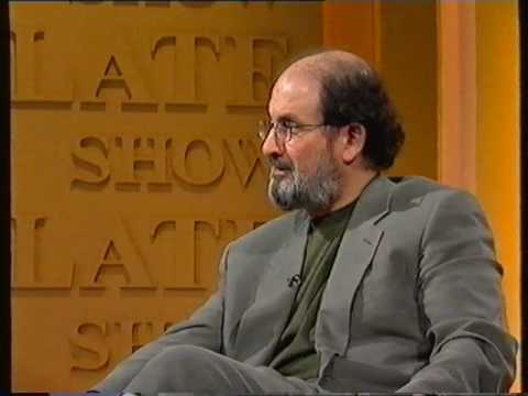 Salman Rushdie interview on The Late Late Show 1999