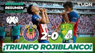 Resumen y Goles | Chivas 2 - 0 León | Liga Mx Clausura 2020 - Jornada 8 | TUDN