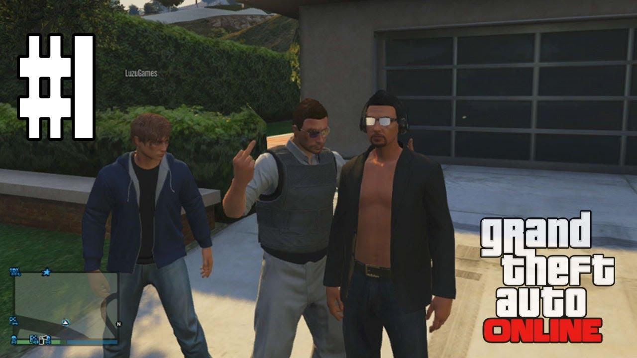 Gta V Online Los Peores Atracadores De La Historia 1 Gta 5 Online Gameplay Youtube
