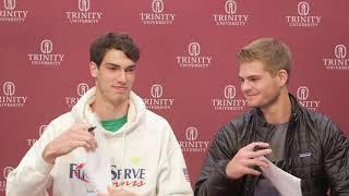 Jordan Pitts, Wilson Lambeth, Men's Tennis Doubles Team of the Week (Week 3)