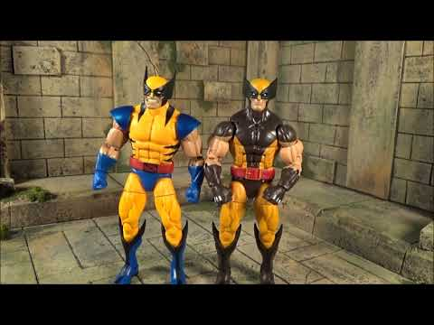 Marvel Legends Tiger Stripe Wolverine Apocalypse Wave