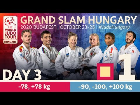 Grand Slam Hungary 2020 - Day 3: Tatami 1