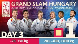 Grand Slam Hungary 2020 - Day 3: Tatami 1
