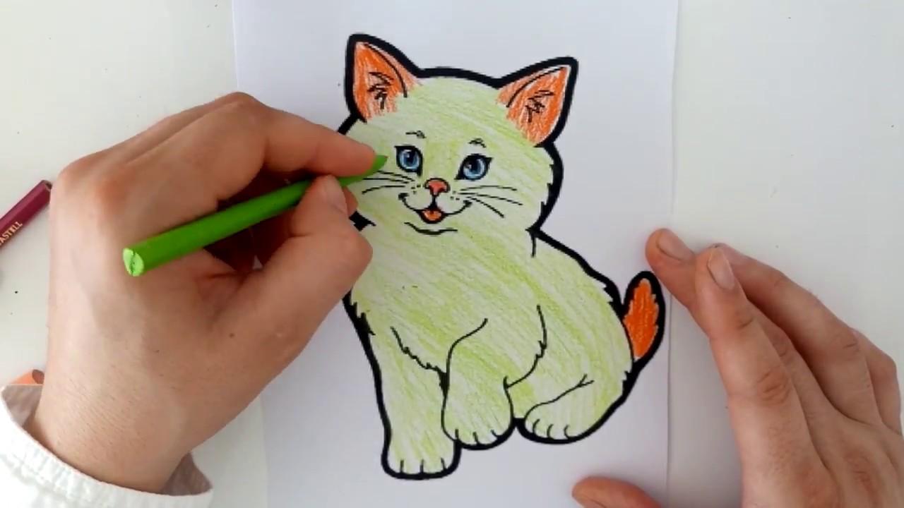 Yaramaz Kedilere Hayvan Boyama Oyunu Serisi Kedi Boyama Oyunu