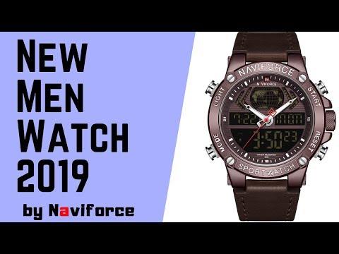 NAVIFORCE Dual Display Original Men Watch/ Best Men Watches 2019/ Best Men Watch Under50