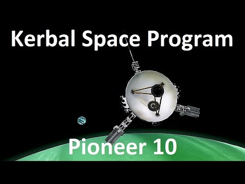KSP - Pioneer 10 - Pure Stock Replicas