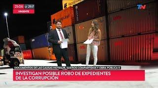 """""""Posible robo de expedientes de la corrupción"""" en """"TN Central"""", de Wiñazki y Geuna - 27/02/17"""