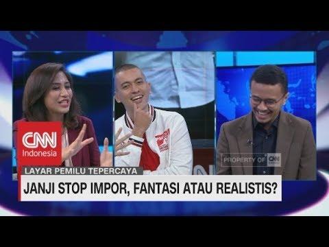 PSI: 'Janji Stop Impor, Prabowo Omong Kosong'