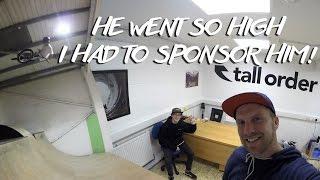 tall order - Webisode #19 16 YEAR OLD GETS SURPRISE SPONSORSHIP!