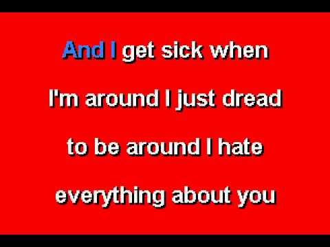 Ugly Kid Joe -  Everything About You - Karaoke