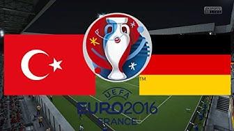 TÜRKEI gegen DEUTSCHLAND - EM 2016 FRANKREICH (Gruppenphase 3.Spieltag) ◄TÜR #04►