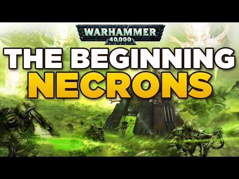 DARK BEGINNINGS Necrons, Old Ones & Eldar | WARHAMMER 40,000 Lore / History