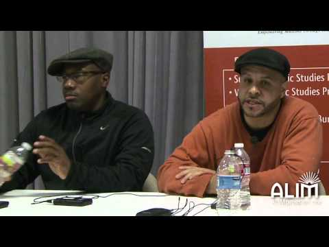 ALIM Winter Program Artist Panel with Preacher Moss, Mustafa Davis and Lena Khan