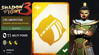 Shadow Fight 3 - CIRCUMVENTION - Legendary Special Move(KATANA)